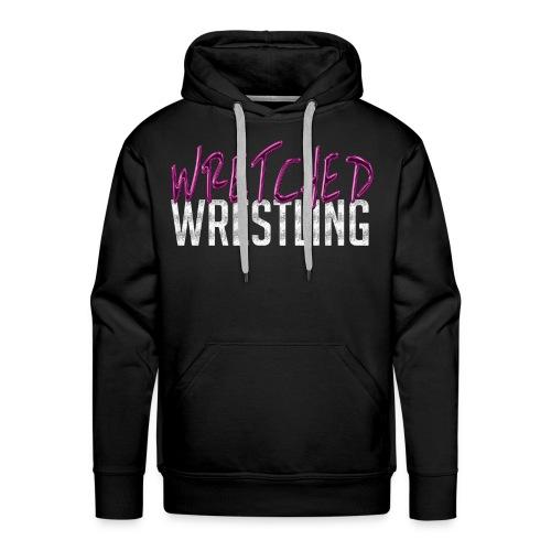 Wretched Wrestling Logo (2018) - Men's Premium Hoodie