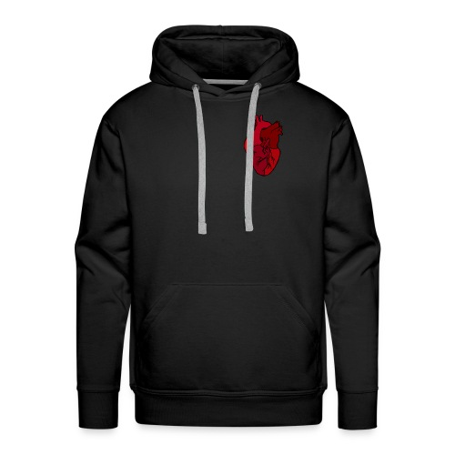 Can yoo feel my heart - Men's Premium Hoodie