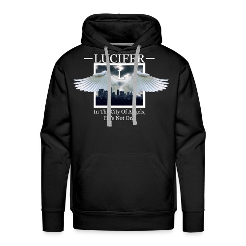 The City Of Angels - Men's Premium Hoodie