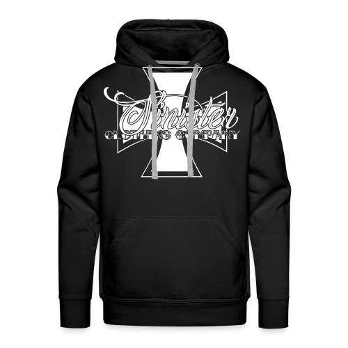 Sinister Clothing Company White - Men's Premium Hoodie