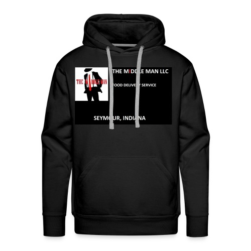 The Middle Man FDS Logo - Men's Premium Hoodie