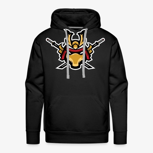 Samurai mascot - Men's Premium Hoodie