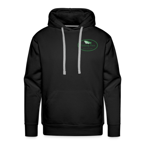 Fishing Fun Logo - Men's Premium Hoodie