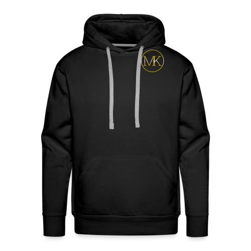 24MK (Black Tee-Shirt) - Men's Premium Hoodie