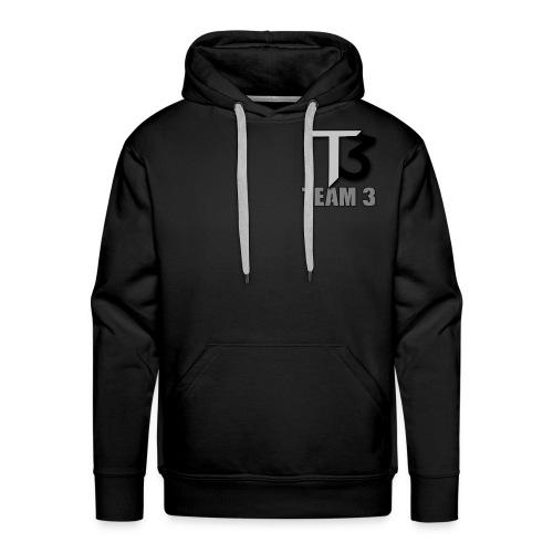 TEAM 3 LOGO - Men's Premium Hoodie