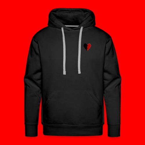 lil hearts (2lit clothing) - Men's Premium Hoodie