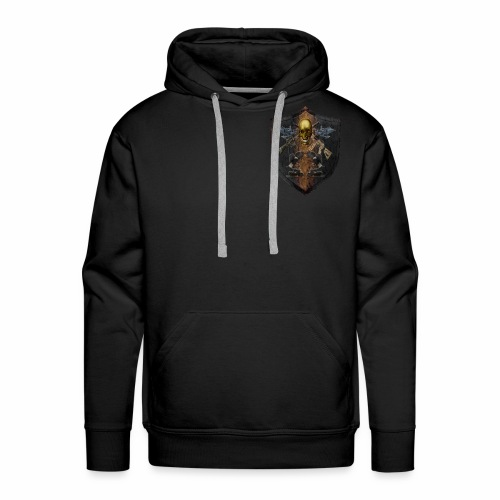 Military Shield of Arms - Men's Premium Hoodie