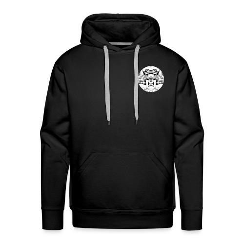 Wavy Design1 - Men's Premium Hoodie