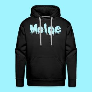 Meloe Drip Drop Logo - Men's Premium Hoodie