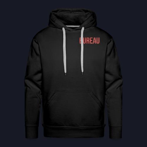 BUREAU Red Shade - Men's Premium Hoodie
