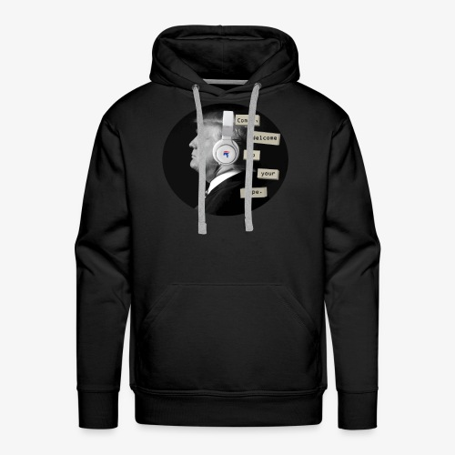trump 13 reasons - Men's Premium Hoodie