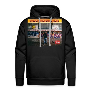 Urbex High School TattooTonyAlton - Men's Premium Hoodie