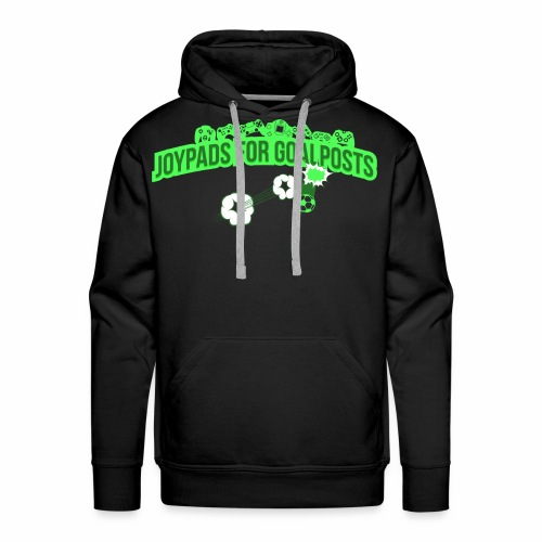 Joypads for Goalposts Classic Logo - Men's Premium Hoodie