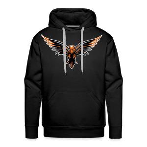 BrawNz Falcon Logo - Men's Premium Hoodie