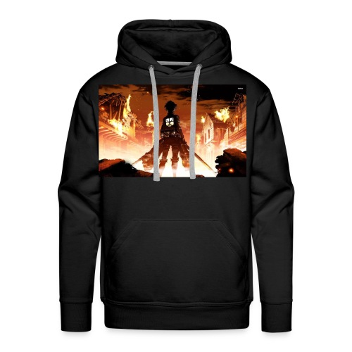 Attack of the titan - Men's Premium Hoodie