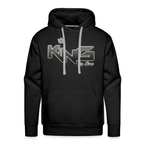 king logo v4 - Men's Premium Hoodie