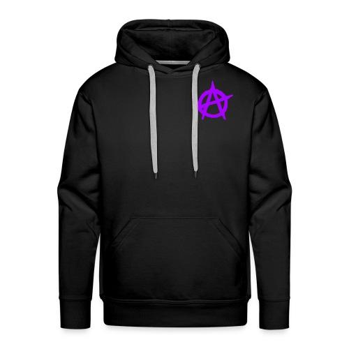 ANVRCHY purple - Men's Premium Hoodie