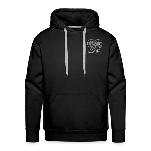 Peace - سلام (BLACK) - Men's Premium Hoodie