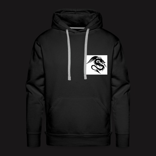 Dragon with stealth - Men's Premium Hoodie