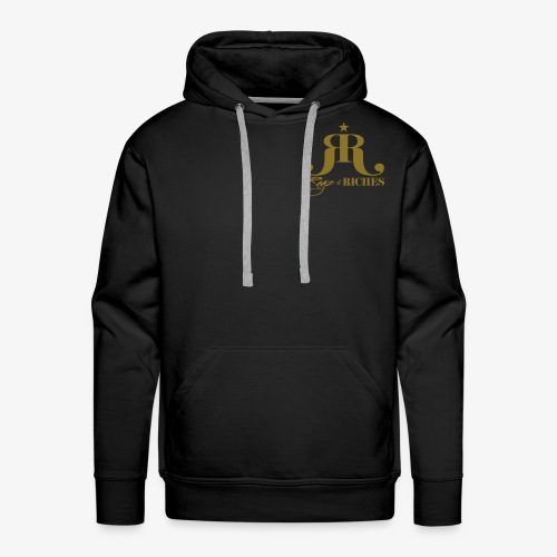 Ragz 2 Riches - Chest Logo - Men's Premium Hoodie