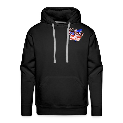Glen s Retro Show Logo - Men's Premium Hoodie