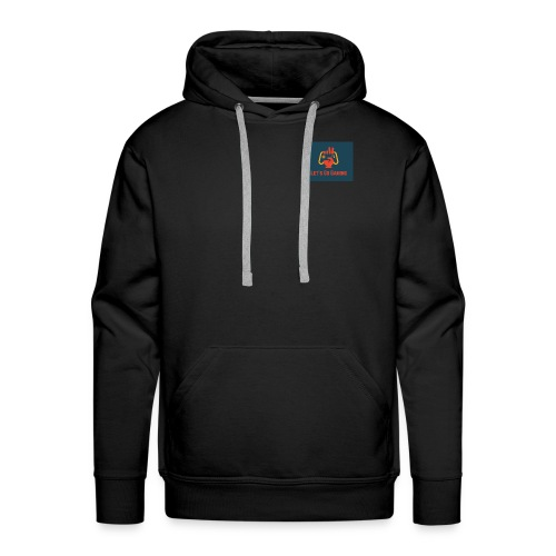 Let's Go Gaming - Men's Premium Hoodie