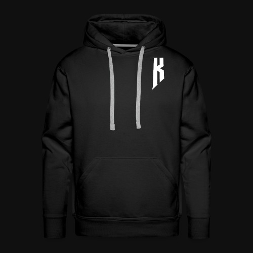 Knight White Logo - Men's Premium Hoodie