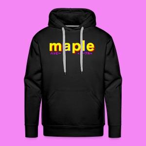 Maple: Relaxed - Men's Premium Hoodie