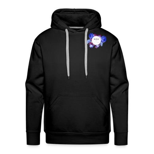 The Stoke Badge Floral - Men's Premium Hoodie