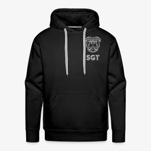 SGTWHITELOGO - Men's Premium Hoodie
