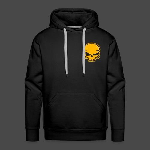 Gold Black Logo - Men's Premium Hoodie
