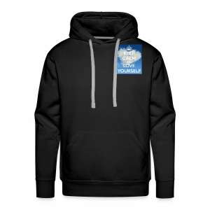Keep calm and love yourself - Men's Premium Hoodie