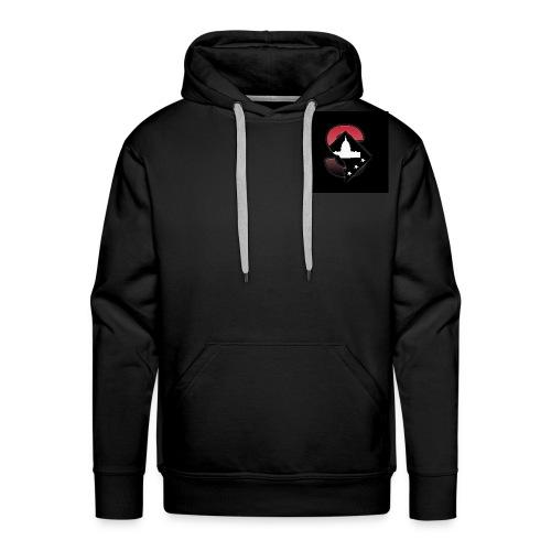 Black SportsOTHP hoodie wit logo - Men's Premium Hoodie
