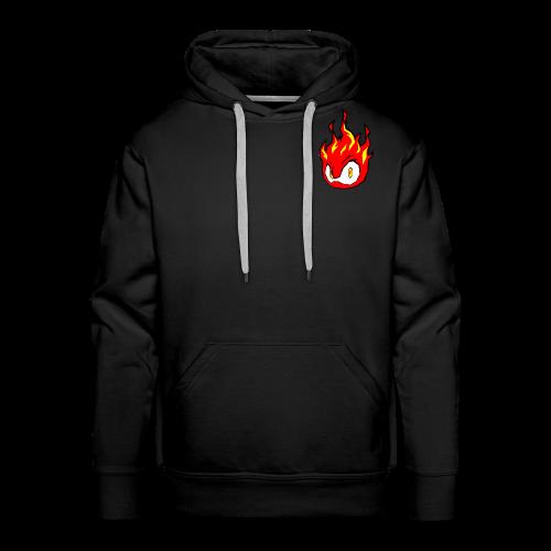 Fire Power YouTube Logo - Men's Premium Hoodie