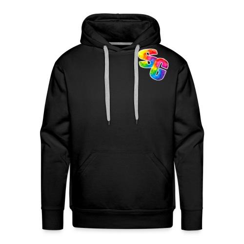 ShortyGamez Rainbow LOGO - Men's Premium Hoodie