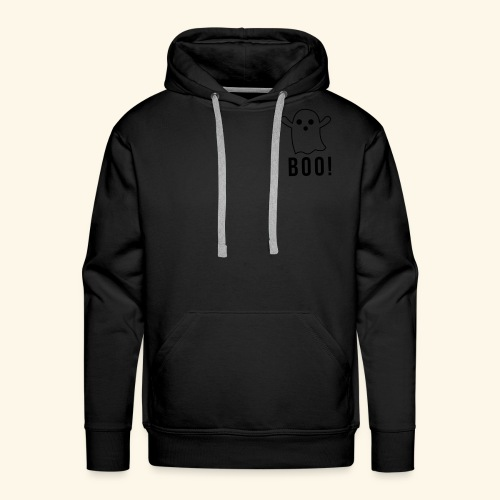 cute ghost boo - Men's Premium Hoodie