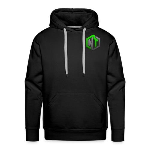 NayTendo GameCube Style Proffesional Logo - Men's Premium Hoodie