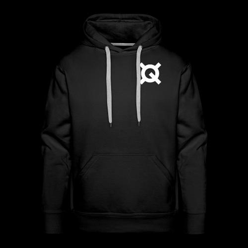 Logo Quantstamp white - Men's Premium Hoodie