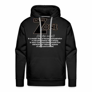 in the zone definition 1 - Men's Premium Hoodie