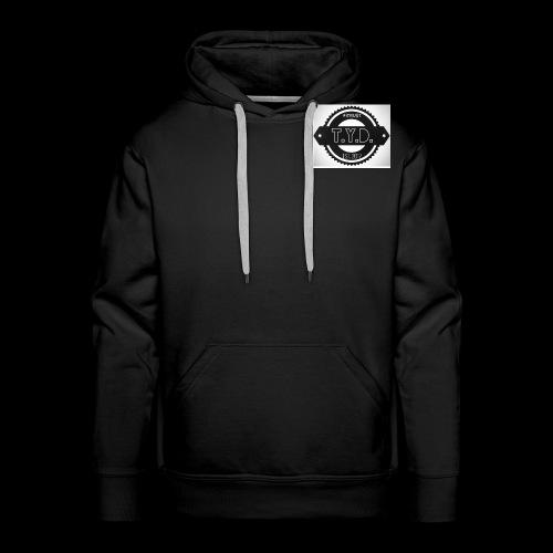 tyd official logo - Men's Premium Hoodie