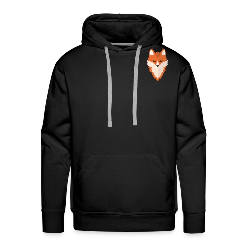 Abstract Fox - Men's Premium Hoodie
