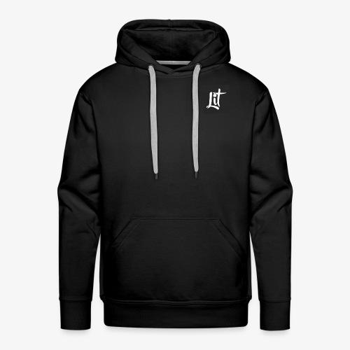 lit logo chest mens premium t shirt - Men's Premium Hoodie
