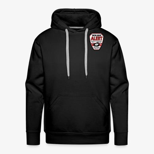 New Wilson ALERT Logo - Men's Premium Hoodie