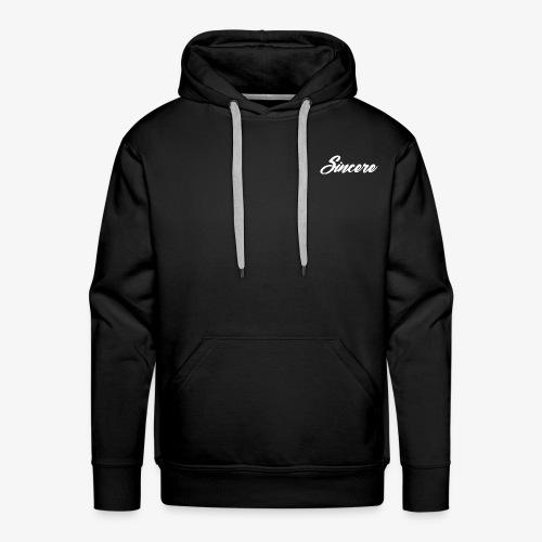 Sincere White Logo - Men's Premium Hoodie