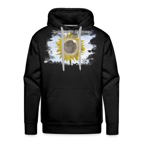 Total Sunflower Eclipse Design 3 - Men's Premium Hoodie