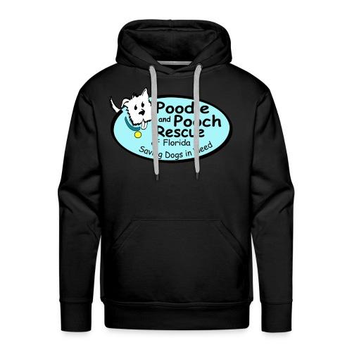 Poodle and Pooch Logo - Men's Premium Hoodie