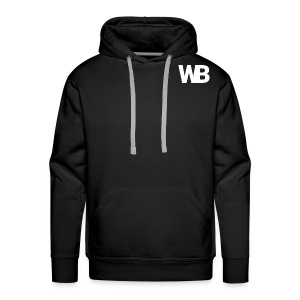 Winged Bandit WHITE profile picture - Men's Premium Hoodie
