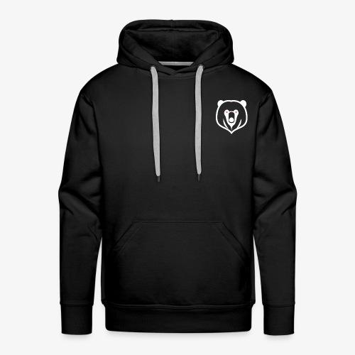 white kz logo - Men's Premium Hoodie