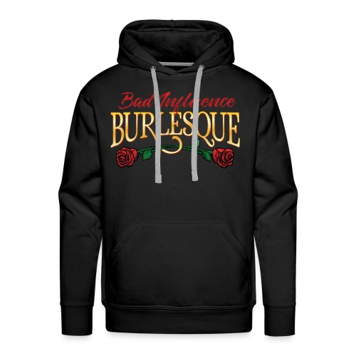 Bad Influence Burlesque Logo 2018 - Men's Premium Hoodie