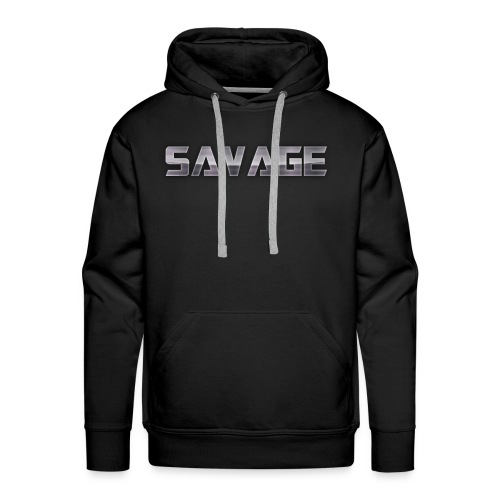 BE A SAVAGE - Men's Premium Hoodie
